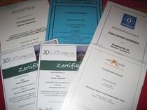 Zertifikate Bioresonanz und Energetik